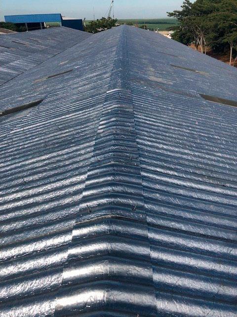 Cumeeiras telhado