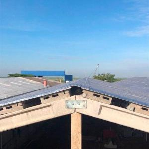 Cumeeira telha ecológica